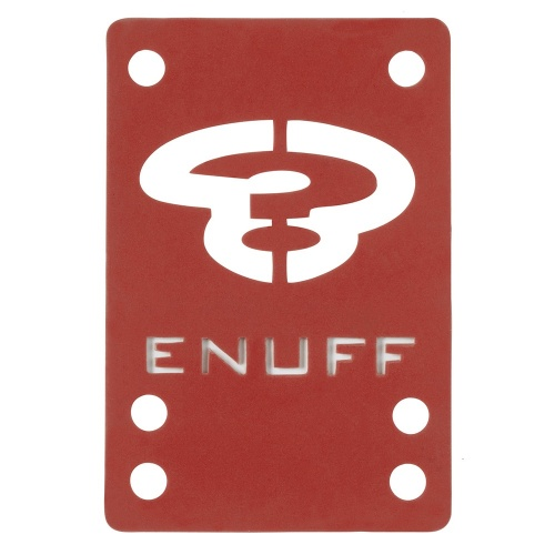 Alzas Enuff: Shock Pads Red