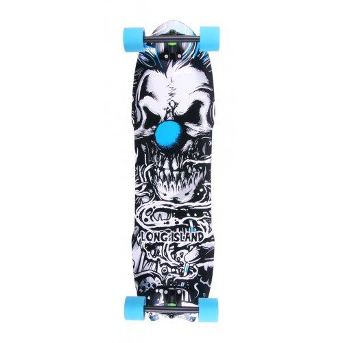 Longboard Completo Long Island Skateboard: 14A Klown 8 Plies