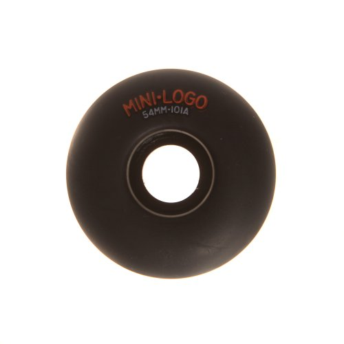 Ruedas Mini-Logo Skateboards: C-Cut Black (54 mm)