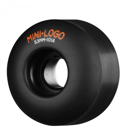 Ruedas Mini-Logo Skateboards: C-Cut Black (53 mm)