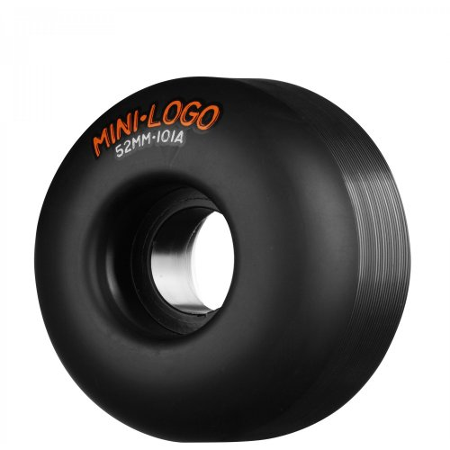Ruedas Mini-Logo Skateboards: C-Cut Black (52 mm)