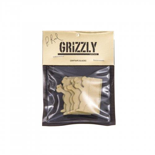 Cuchillas de Plástico Grizzly: Griptape Plastic Blades P-Rod Gold