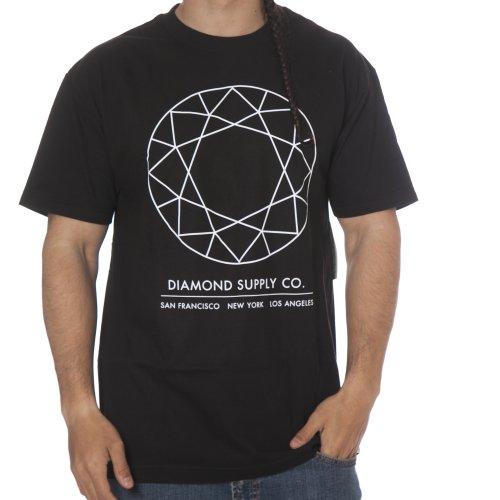 Camiseta Diamond: Off Top Tee Black BK