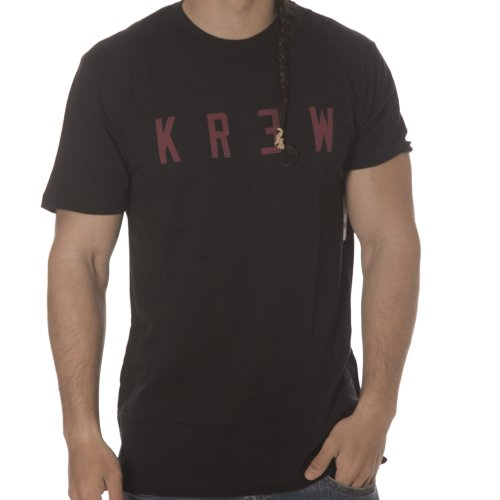 Camiseta Krew: Locker BK/RD
