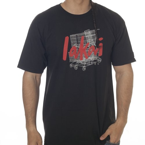 Camiseta Lakai: TSC Chunk Tee Choco 20 Years BK
