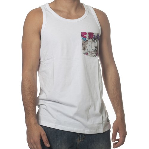 Camiseta sin mangas Wrung: Pocketank WH