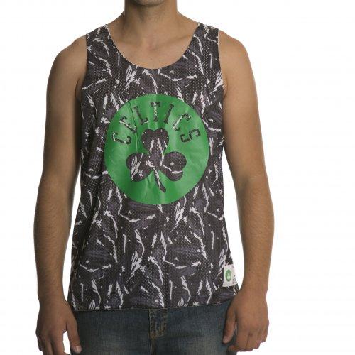 Camiseta de tirantes Mitchell & Ness: NBA Reversible Mesh Tank Boston Celtics GR/WH
