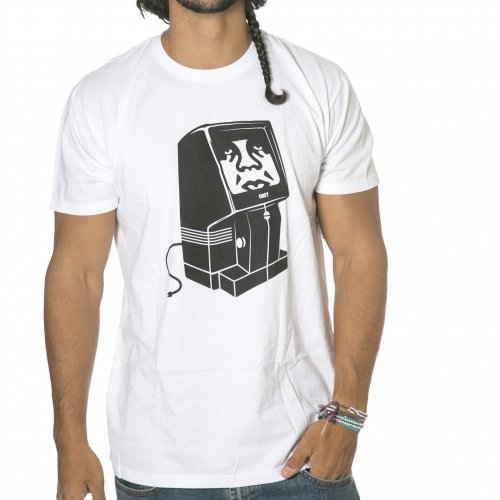Camiseta Obey: Unplugged WH