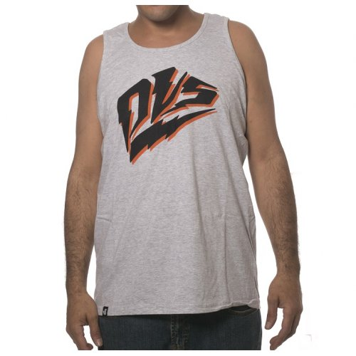 Camiseta sin  mangas DVS: Blitz Tank - Grey/Black GR