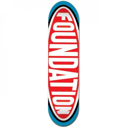Tabla Foundation Skateboards: Oval 8.25