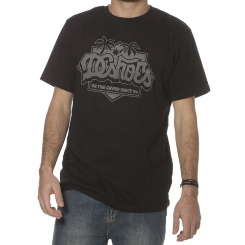Camiseta DC Shoes: 123 Caliscript KVJ BK
