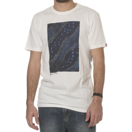 Camiseta Element: Reptile Off White BG