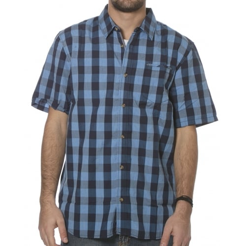 Camisa Vans: Milton Dress Blues/Fre BL