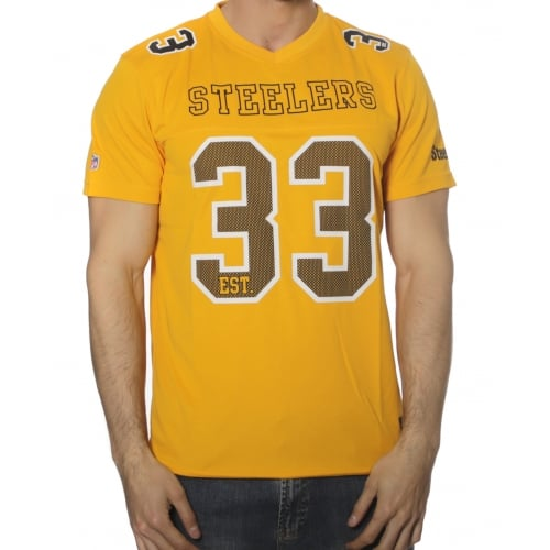 Camiseta NFL Majestic: Abris Pittsburgh Steelers YL