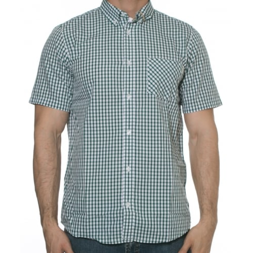 Camisa Carhartt: Kenneth Check GN/WH