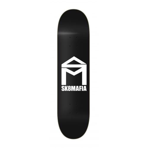 Tabla SK8 Mafia: House Logo Black 8