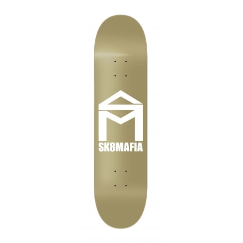 Tabla SK8 Mafia: House Logo Gold 8