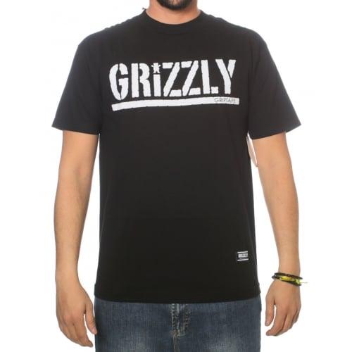 Camiseta Grizzly: OG Stamp Logo BK