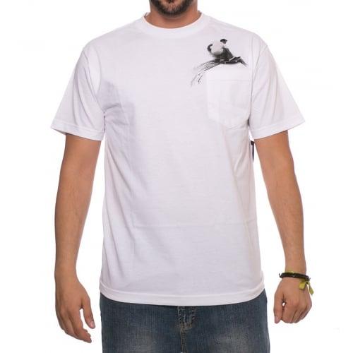 Camiseta Lakai: Wallride Pocket Tee WH