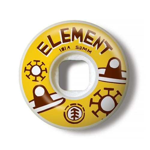 Ruedas Element: Los Amigos Wides (53 mm)