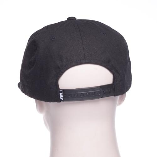 Gorra Supra  Mark Patch Snap Black BK  25117e1026b