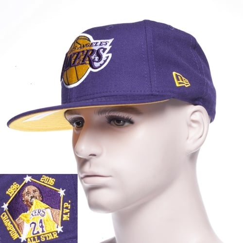 Gorra New Era: 5950 Loslak Kobe  Inc Purple Player PP