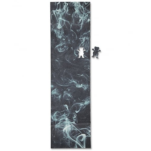 Lija Grizzly: Smoke Cutout Griptape Black