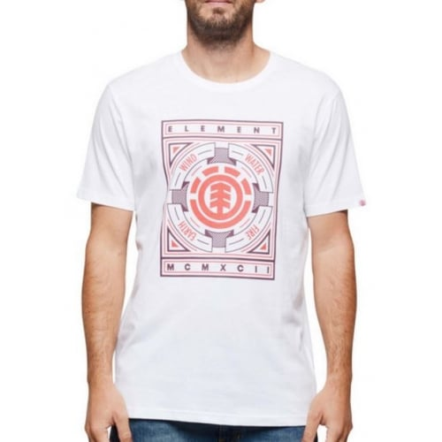 Camiseta Element: Emblem SS Optic WH