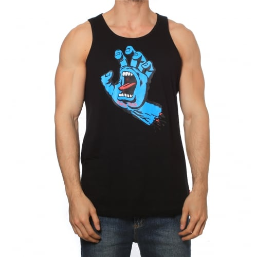 Camiseta sin mangas Santa Cruz: Vest Screaming Hand BK
