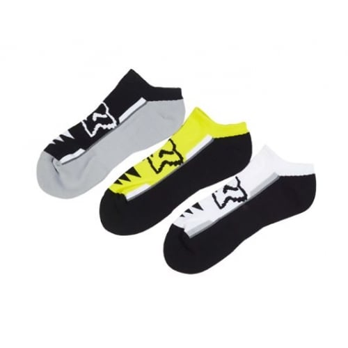 Calcetines Fox Racing: Perf No Show Socks MC (3 Pack)