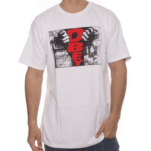 Camiseta Obey: Break Thru WH