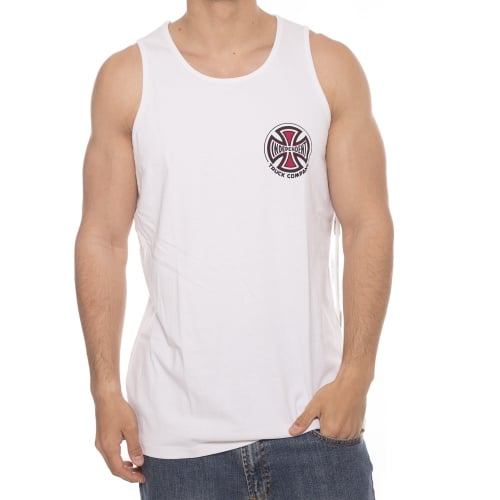 Camiseta sin mangas Independent: Vest Truck Co White WH