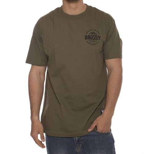 Camiseta Grizzly: All Terrain Military Green GN