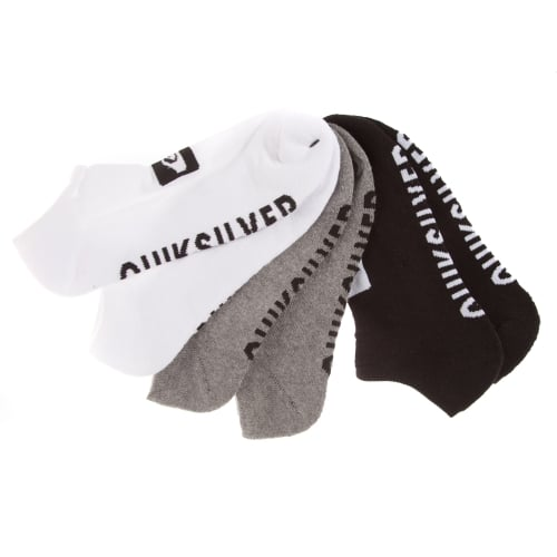 Calcetines Quiksilver: 3 Pack Ankle-Ast (pack 3) MC