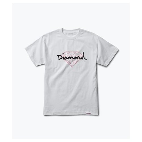 Camiseta Diamond: Brilliant Script WH