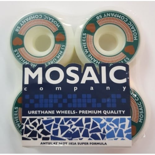 Ruedas Mosaic: Heart (53 mm)