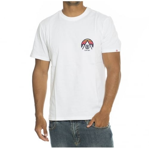 Camiseta Element: Tri Tip SS Optic WH