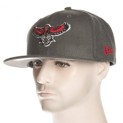 Gorra New Era: NBA Heather Fitted Atlanta Hawks GR