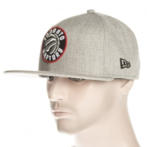 Gorra New Era: NBA Heather Fitted Toronto Raptors GR