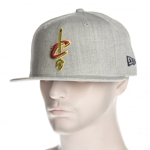 Gorra New Era: NBA Heather Fitted Cleveland Cavaliers GR