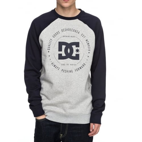 Sudadera DC Shoes: Rebuilt 2 Crew GR/NV