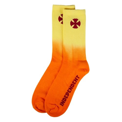 Calcetines Independent: Light It Up Orange-Yellow OR