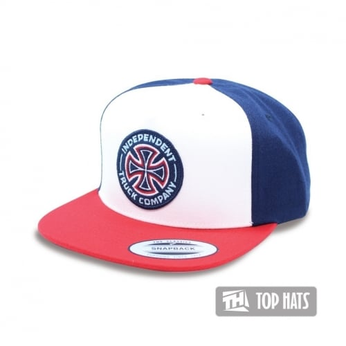Gorra Independent: Combi Snapback Red-Navy WH/RD/NV