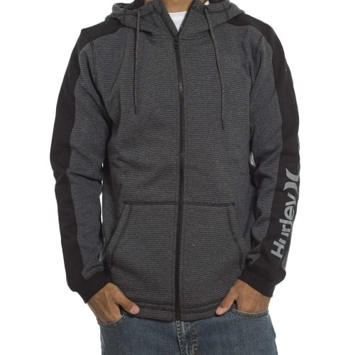 Sudadera Hurley: Surface Zip GR