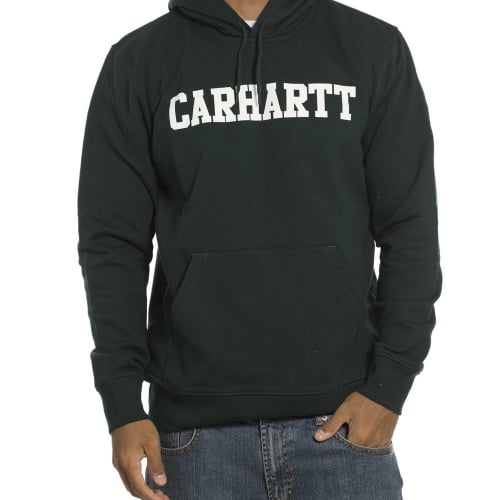 Sudadera Carhartt: Hooded College Parsley GN