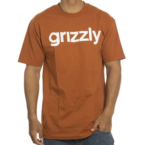Camiseta Grizzly: Lower Case Texas Orange BR