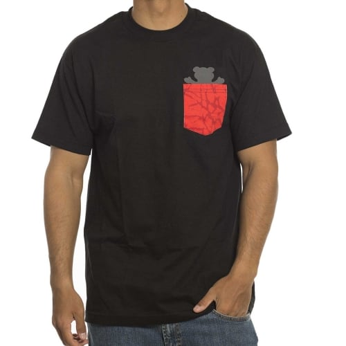 Camiseta Grizzly: Cement Pocket BK