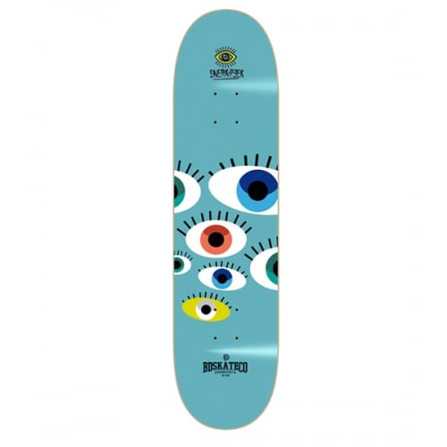 Tabla BDSkateCO: Sneak Peek Blue 8.25