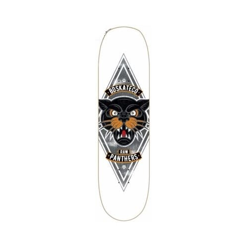 Tabla BDSkateCO: Pool Deck - Panter White 8.5