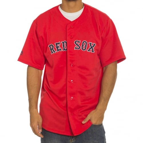 Camisa Majestic: MLB Replica Jersey Red Sox RD